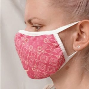 Face Mask 3 layers reversible